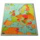 Lokatorkarta över Europa 62 x 78 cm