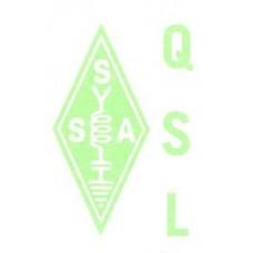 QSL-märke - SSA